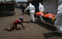 Ebola in Liberia in October 2014