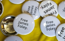 Free James Foley buttons