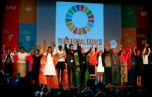 Global leaders open the Social Good Summit during 2015 UNGA