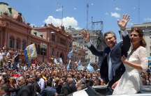 Argentina's newly elected President Mauricio Macri