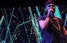 Ecuador hip hop artist Mateo Kingman