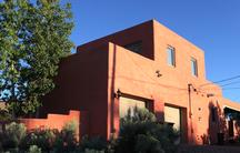 The TaHa Mosque in Santa Fe, New Mexico.
