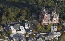 Limburg cathedral and bishops residence