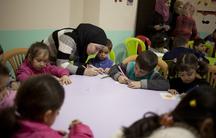 Syrian volunteer