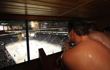 Hockey sauna