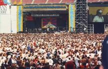Tibetan Freedom Concert at RFK Stadium in June, 1998