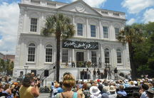 The opening ceremony of Spoleto Festival USA in 2013.