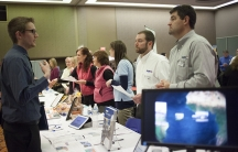 The College of DuPage hosts its second annual career fair.