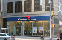 Capital One branch in New York City