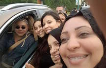 Morocco king selfie