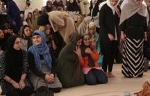 Congregants at the Women's Mosque of America