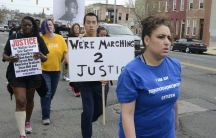 Last month around 100 activists associated with Justice League NYC and other civil rights groups marched down historic US Route 1 through Baltimore as participants in an event named #MARCH2JUSTICE.