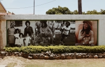 A street mural in Kingston, Jamaica.