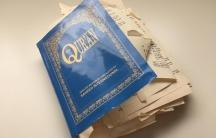 Torn up Quran in Canada