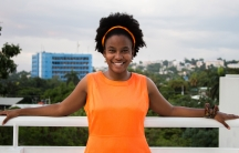 Corinne Joachim Sanon went back to Haiti to start a business, and she located her business, Askanya Chcolatiers, in the house where her grandmother grew up.