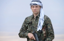 One of the first US volunteers with the YPG was Jordan Matson, from Racine, Wisc.