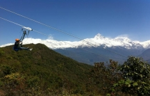 The ZipFlyer in Nepal features speeds upwards of 80 miles an hour