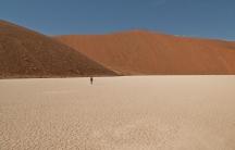 The otherworldliness of Namibia.