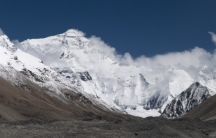"The real Everest as depicted in ""20110810 North Face of Everest Tibet China Panoramic"""