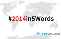 #2014in5Words