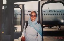 Maryam Abolfazli in Iran.