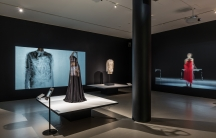 The Museum of Fine Arts in Boston has a display of 3-D printed dresses and accessories.