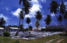 Burial grounds in Majuro.