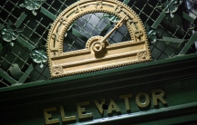 The elevator at Washington DC's historic Old Post Office Pavilion.