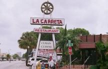 A La Carreta restaurant, a popular Cuban cuisine franchise in the Miami area.