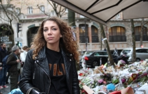 """Morgane Bloncourt, 24, lives a few minutes walk away from a cafe that was attacked last Friday. She's now moving to Israel. """"I don't feel safe in Paris. It's weird."""""""