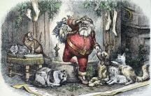 The coming of Santa Claus, by Thomas Nast