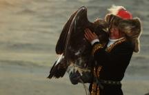 Mongolian huntress