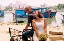 A portrait of a Vietnamese couple.