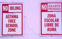 Asthma free school zone