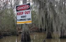 Louisiana pollution warning