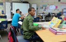 Abdi in class