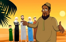 "A screen shot from an ""Average Mohamed"" animated cartoon directed at 8- to 16-year-olds that debunks ISIS recruitment messages."