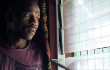 Sudanese asylum seeker Abdul Aziz Muhammed, who has been stuck in a Australian-funded immigration detention camp on a remote island in Papua New Guinea for nearly four years. His only hope is that the Obama-era agreement to resettle refugees like him to t