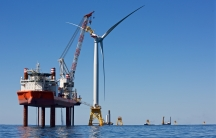First US offshore wind turbine