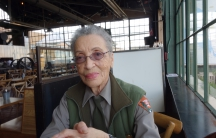 Betty Soskin, 94, the nation's oldest park ranger, at the Rosie the Riveter Museum in Richmond, California