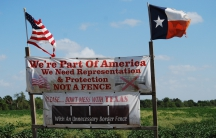 Residents along the border in Texas' Rio Grande Valley express their sentiments on properties up and down the Rio Grande River.