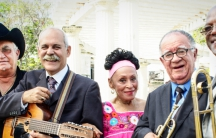 Members of the Buena Vista Social Club performing at The White House.