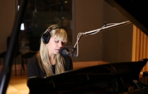 Basia Bulat performing at The World's studios.