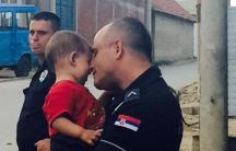 serbian cop