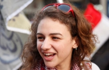 Amira Mikhail, an Egyptian-American activist.