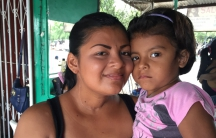 Franci Machado brings her four-year-old daughter to work every day because she can't afford childcare. She says if she died because she couldn't get chemotherapy to treat her cancer no one would take care of her two children.