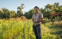 """Kristyn Leach on her Sunol, California farm, Namu. """"There is significance to all this in terms of that sense of pride and connectedness,"""" she says."""