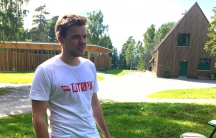 Ole Martin Juul Slyngstadli on Utoya Island five years after the Norway shootings. He says the biggest victory for survivors of the attack like him is that the summer camp remains open and a new crop of kids is arriving next month.