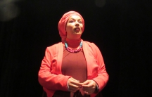 Samia Orosemane tweaks stereotypes about her North African community in her one-woman show in Paris.