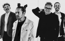 Café Tacvba band members Quique Rangel, Rubén Albarrán, Joselo Rangel and Meme del Real